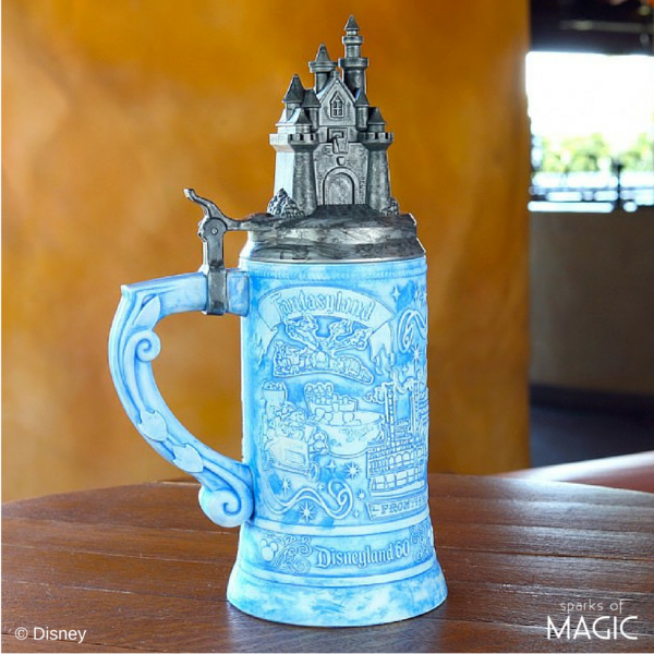 There are also a ton of cute souvenir sippers including the special Disneyland Diamond Celebration stein (swoon) that I can't wait to get!