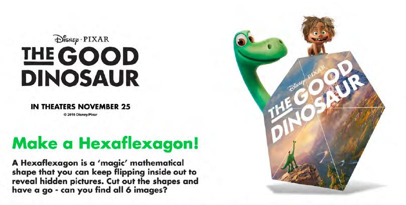 Download the Hexaflexagon Activity!