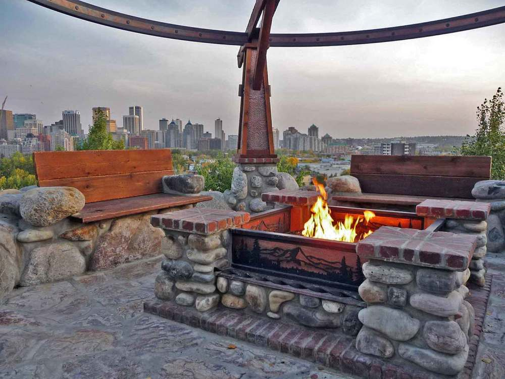 rosedale hill 1 residence fire pit