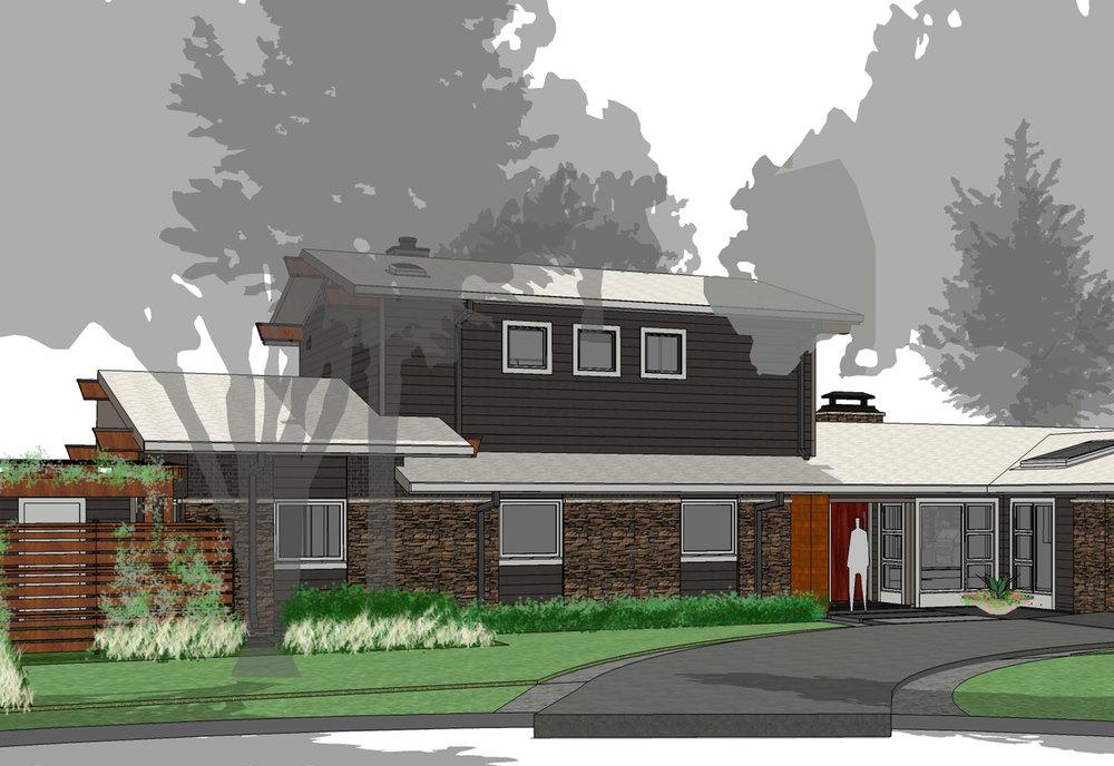 tanglewood midcentury modern residence
