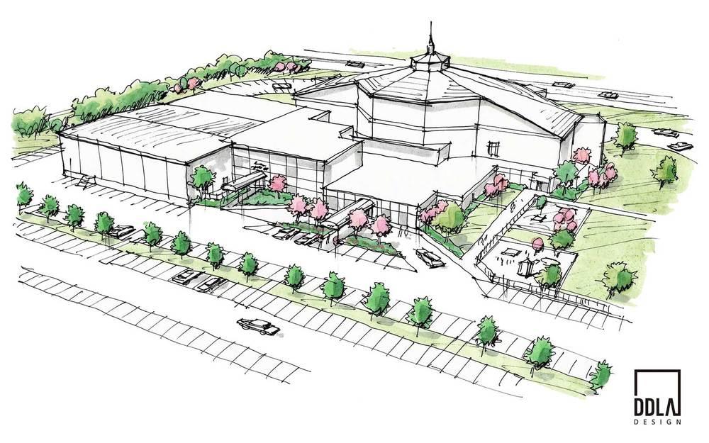 tulsa central church conceptual design