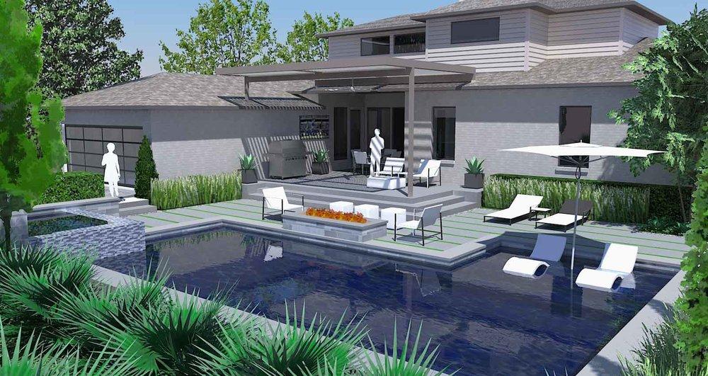 sunnyland lakewood-modern-landscape-pool-design