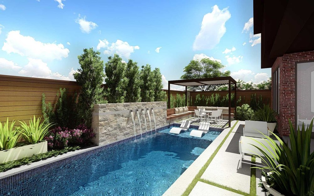 small backyard swimming pool design