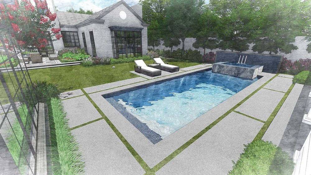 ALTERNATE POOL DESIGN 2