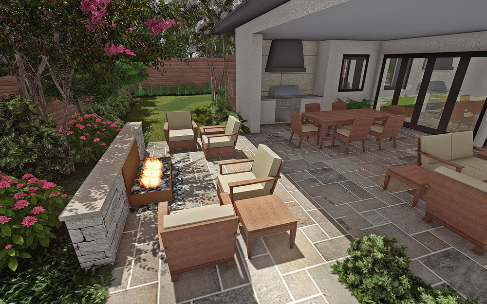 OUTDOOR SEATING @ FIRE PIT
