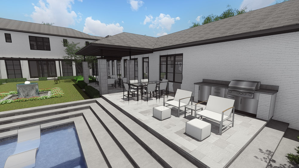 REVISED - OUTDOOR GRILL AREA