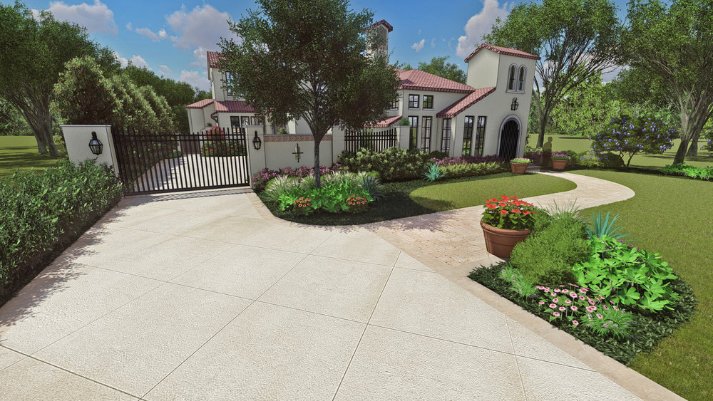 NEW DRIVEWAY APPROACH