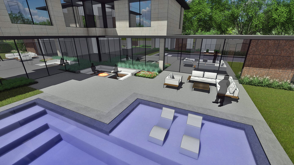 POOL TERRACE & OUTDOOR LIVING