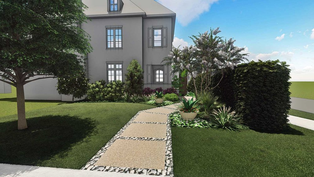 FRONT ENTRY SKETCH