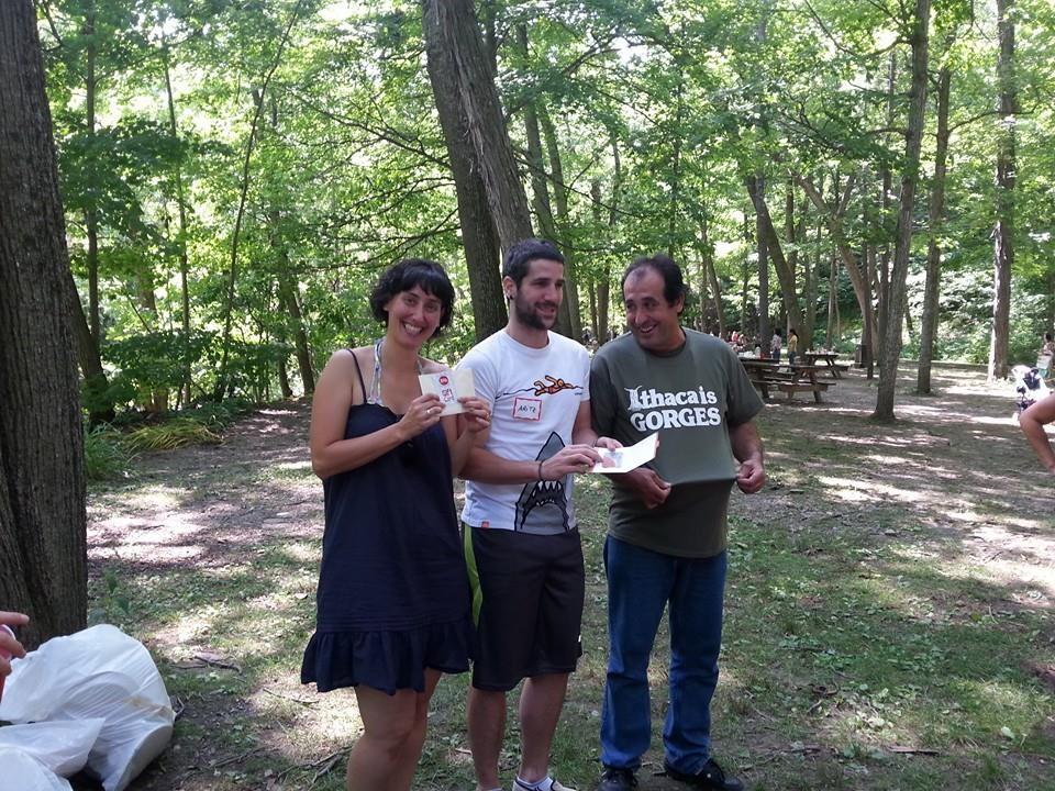 Treman picnic prizewinners