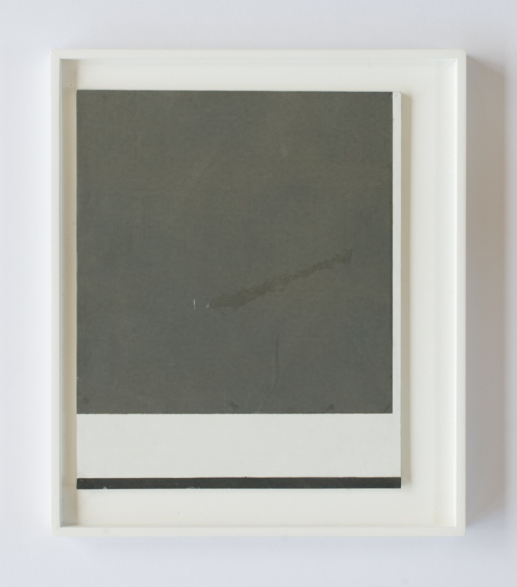 Peter Adsett   Painting number 15  2014  Mixed material  34.5 x 29.5 x 2.2cm   AUD $1,000