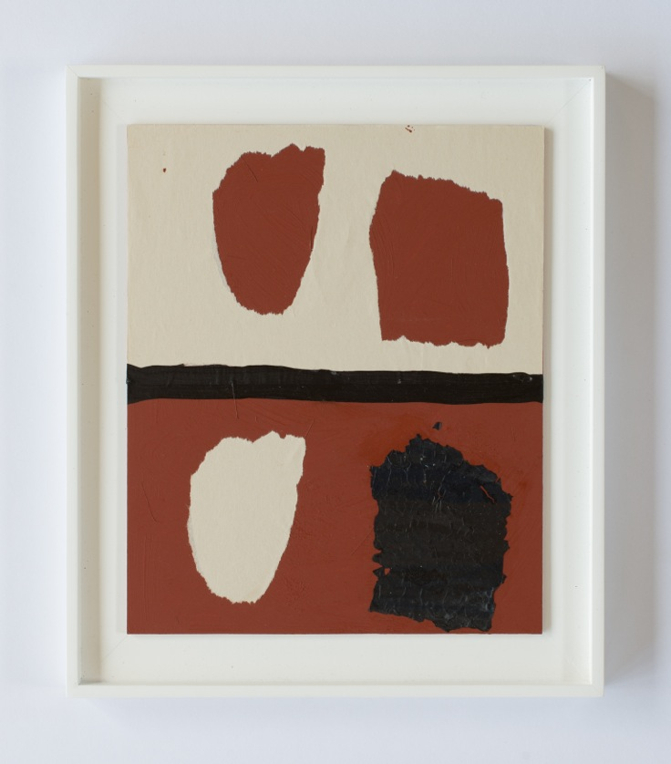 Peter Adsett   Painting number 13  2014  Mixed material  34.5 x 29.5 x 2.2cm   AUD $1,000