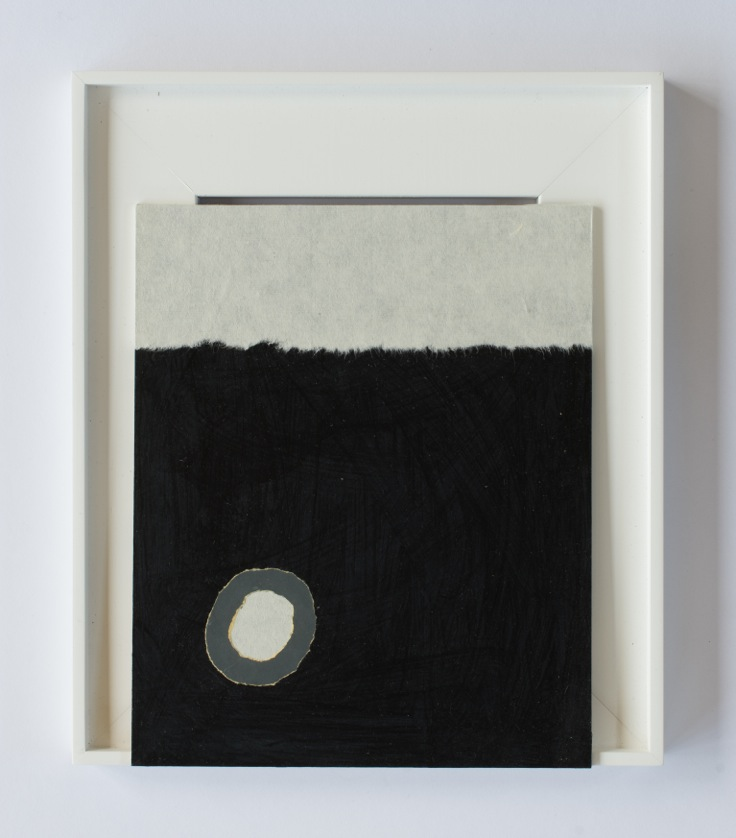 Peter Adsett   Painting number 14  2014  Mixed material  34.5 x 29.5 x 2.2cm   AUD $1,000