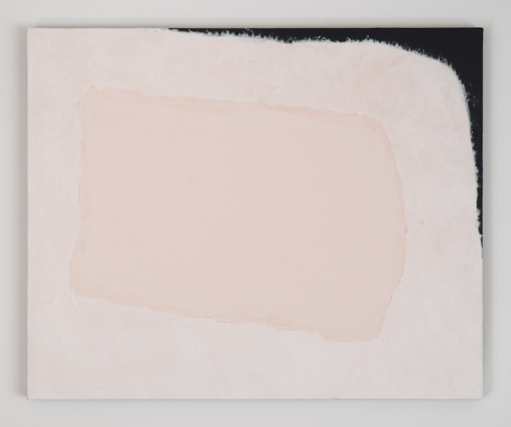 Peter Adsett, Painting number 8, Paint, paper, smooth coat and linen, 69.7 x 56.7 x 2.2cm.jpeg