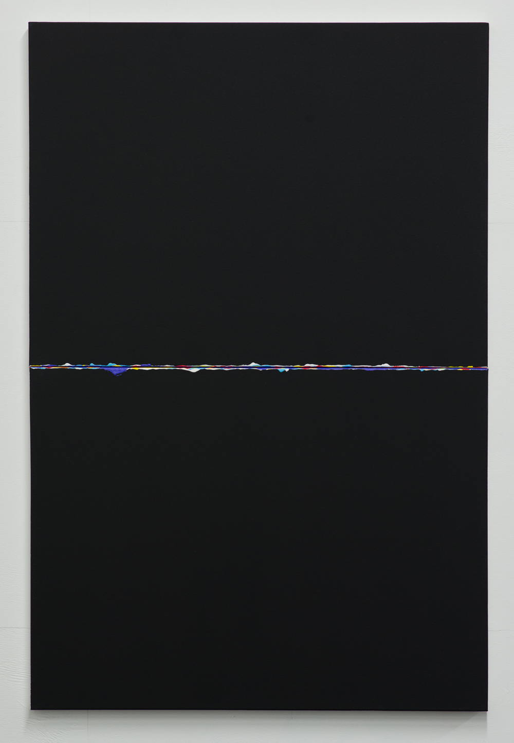 Parallel Streams  2015  Oil and acrylic on canvas  152.5 x 76 x 3.5cm   Enquire