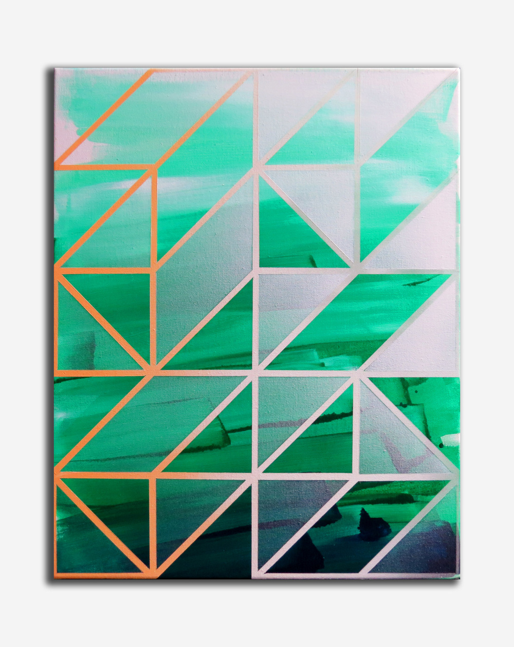 Oscillate #6, 40 x 50cm, Acrylic on canvas, 2016.jpg