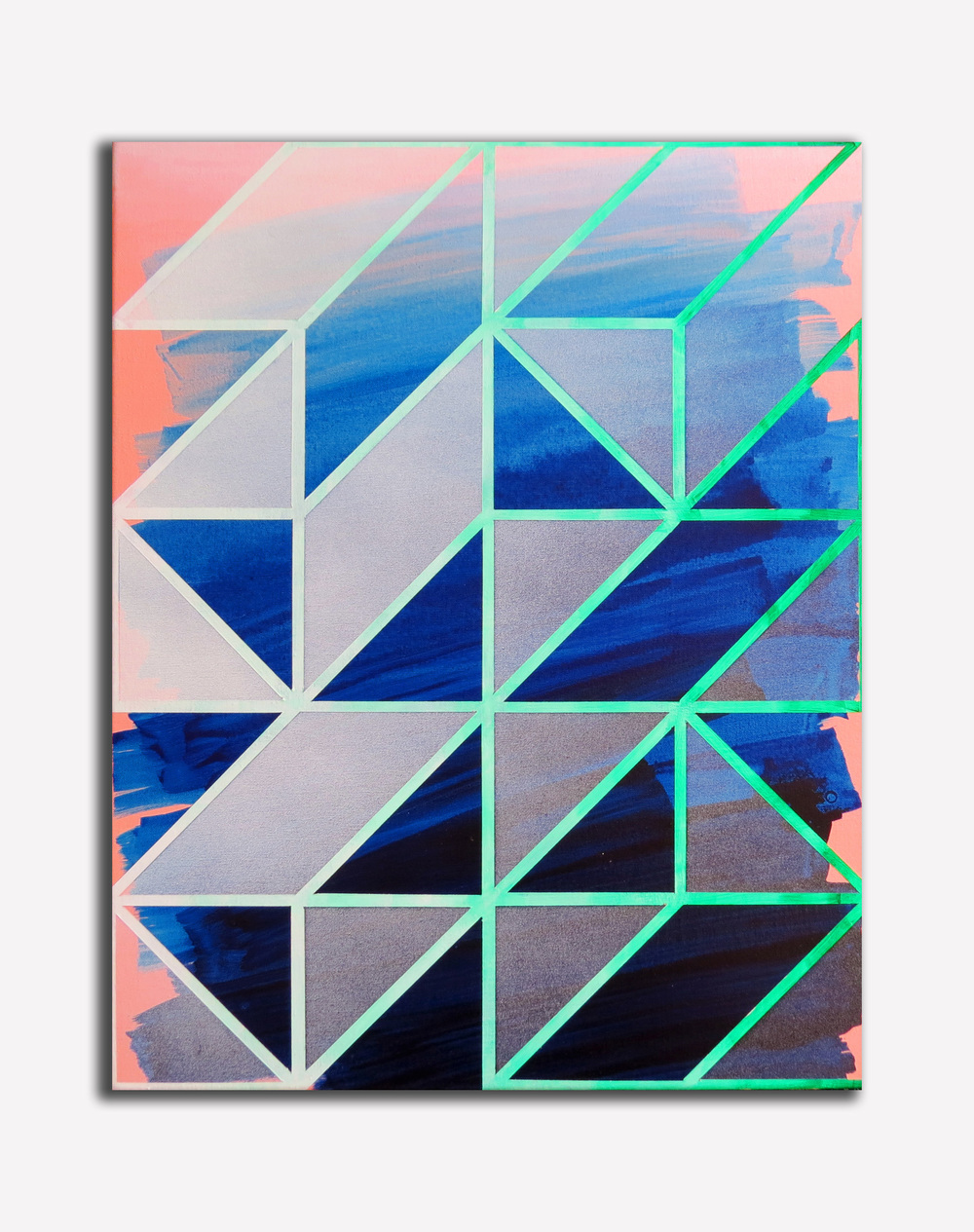 Oscillate #7, 40 x 50cm, Acrylic on canvas 2016.jpg
