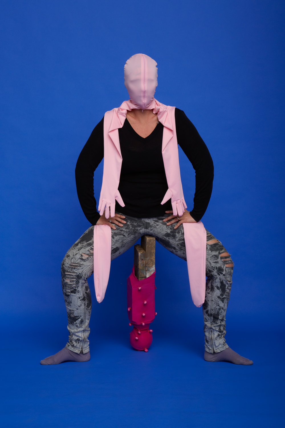 Teresa HR Lane, CockWear #1, 2012:17, Photographic print, 100 x 200cm.jpg