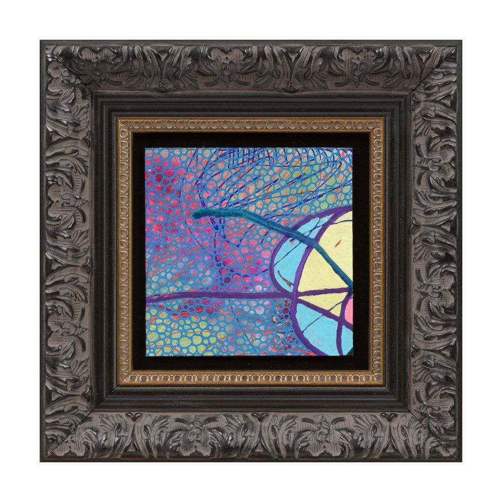 Evan Woodruffe, 28th August 2017 (A3), 12.5x12.5cm (unframed), acrylic and fabric on linen.JPG
