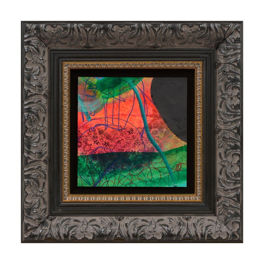 Evan Woodruffe, 28th August 2017 (C3), 12.5x12.5cm (unframed), acrylic and fabric on linen.JPG