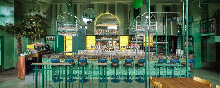 Bar Botanique in Amsterdam, designed by Studio Modijefsky. Photo: Maarten Willemstein