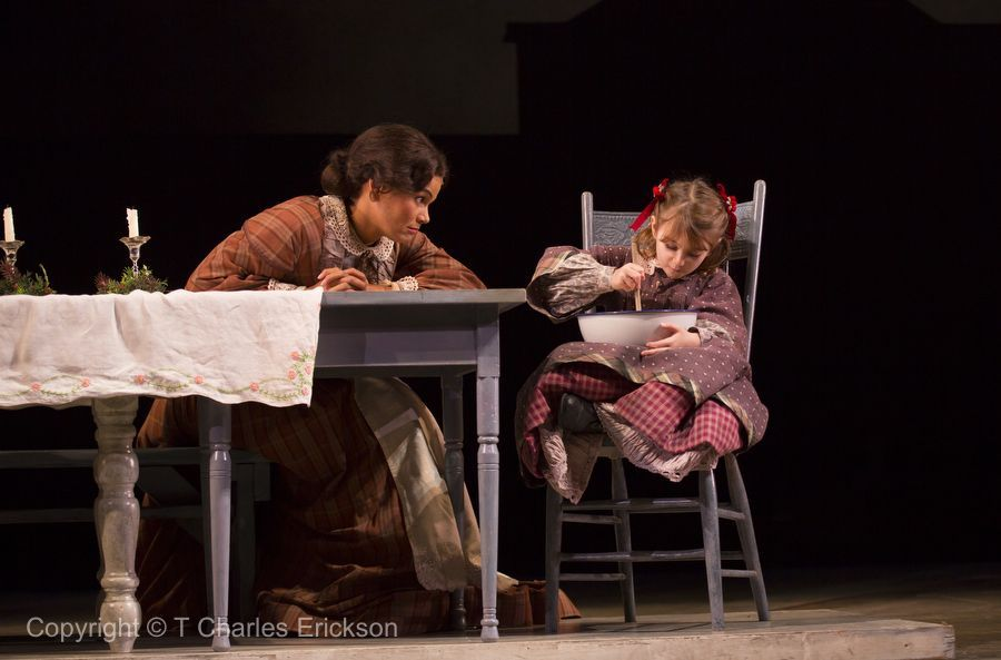 A Christmas Carol , McCarter Theatre (with Eliza Madore)