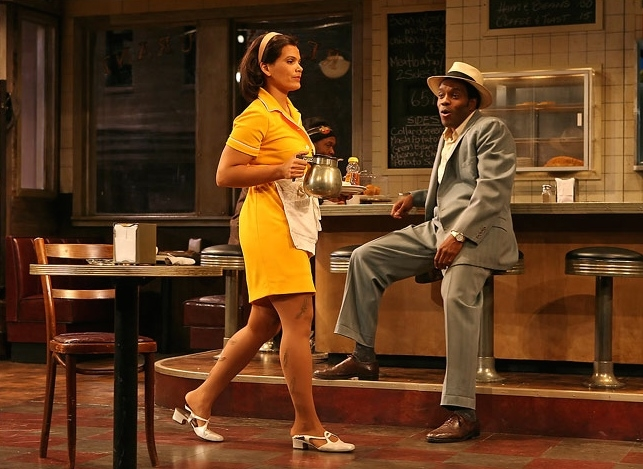 Two Trains Running , Signature Theatre (with Chad Coleman)