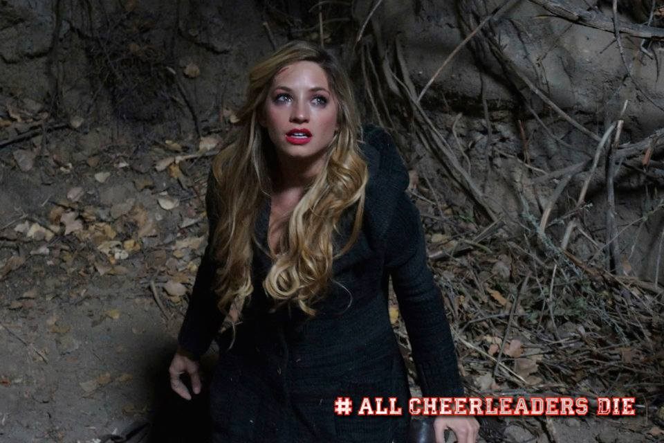 Brooke Butler still from All Cheerleaders Die