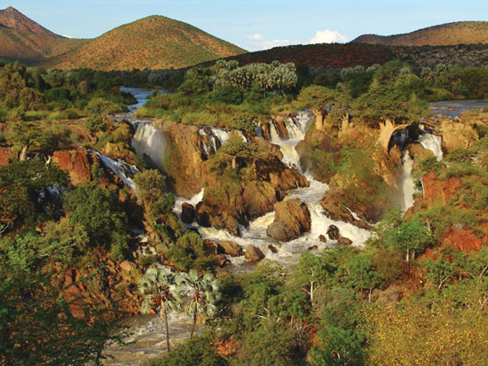 """(Photo Credit: Travel News Namibia. """"Epupa Falls"""")"""