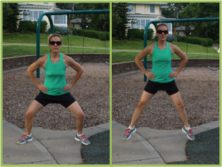 Cardio Burst!  Plie' Jumps : Jump for 1 minute