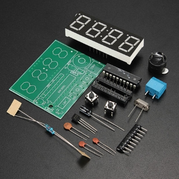 Electronic clock kit for hobbyists