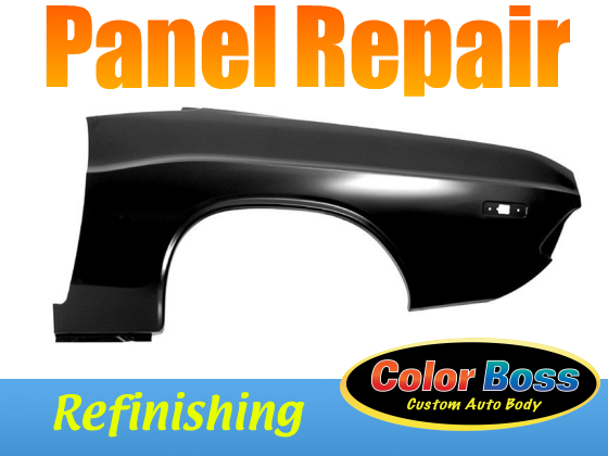 Automotive Panel Refinishing