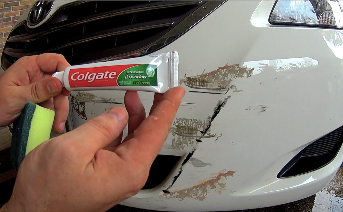 Why Toothpaste Won T Fix Scratches And Other Paint Fix Fails