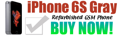 iPhone 6S GSM Unlocked 64Gb Space Gray $254.97