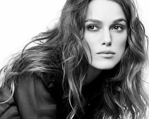 Kiera Knightley Black and White by James White