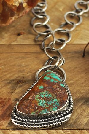 Handmade gemstone jewelry as a pendant is such a great way to display your favorite gemstone or fossil. Each of my handmade gemstone or fossil pendants is fabricated and forged from sterling silver, copper and sometimes a bit of gold.