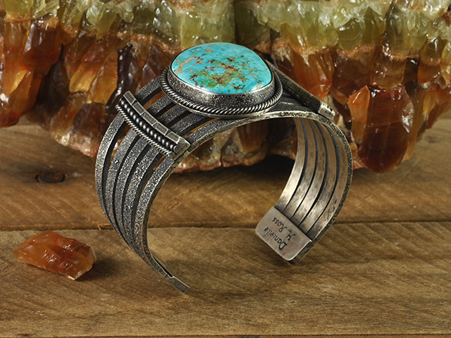 Turquoise Mountain Sterling Silver Cuff