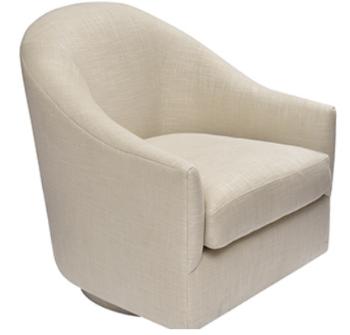 Take virtually any EDWARD FERREL + LOUIS MITTMAN Lounge Chair and convert it into a swivel base chair.