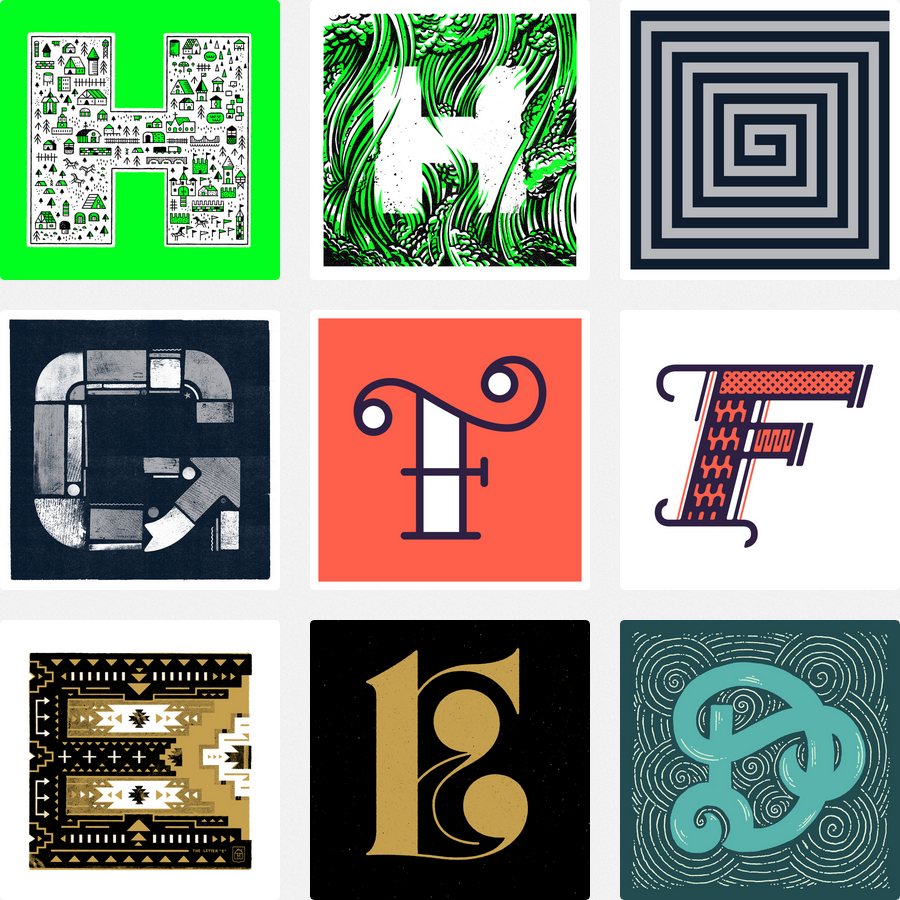 Visit the Type Fight below to see who designed these awesome prints