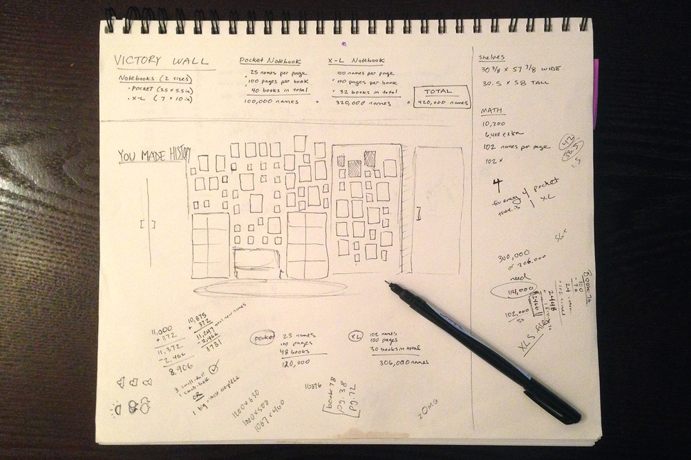 Initial sketches / planning