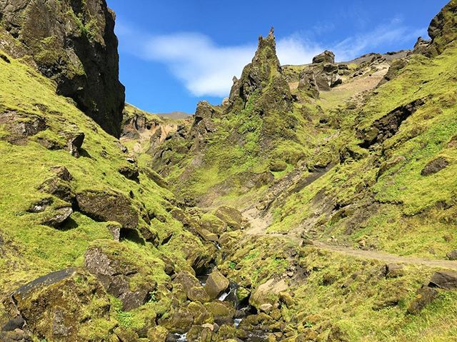 Returned to my favorite campsite for a few days #iceland #camping #pakgil