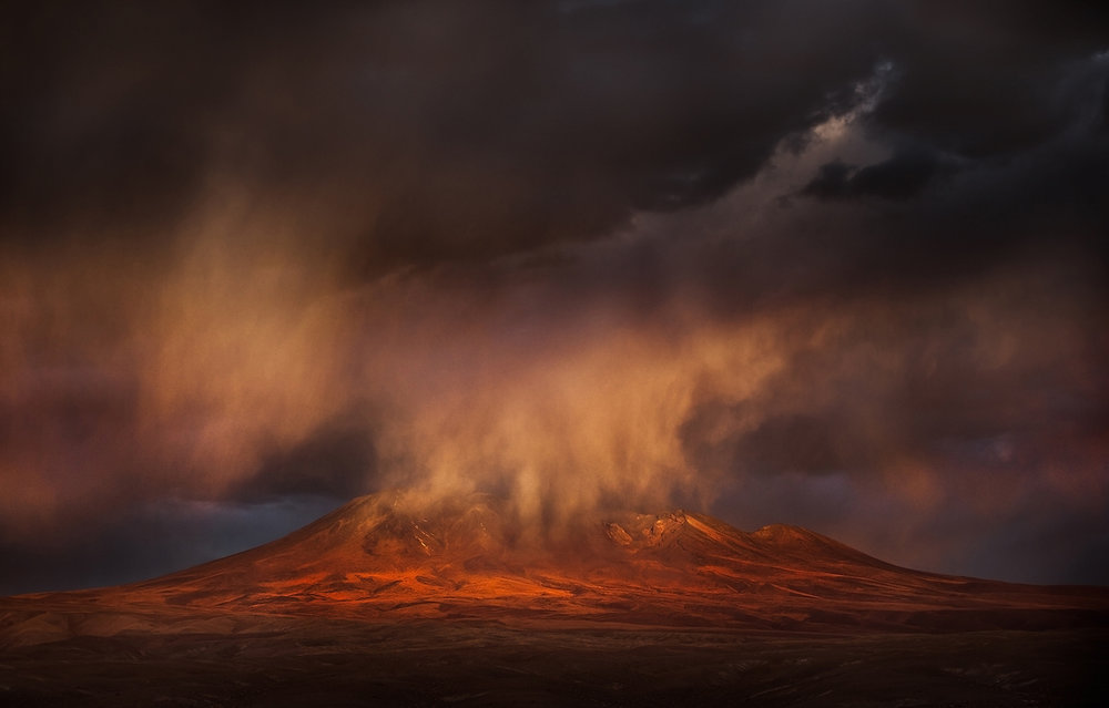 Evening Fall in Atacama - Chile 2014