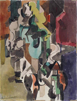 Figure 3. Untitled (AKA Abstract Study), ca.1950-1951