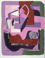 Figure 10. Heavy Forms / Pink, 1958