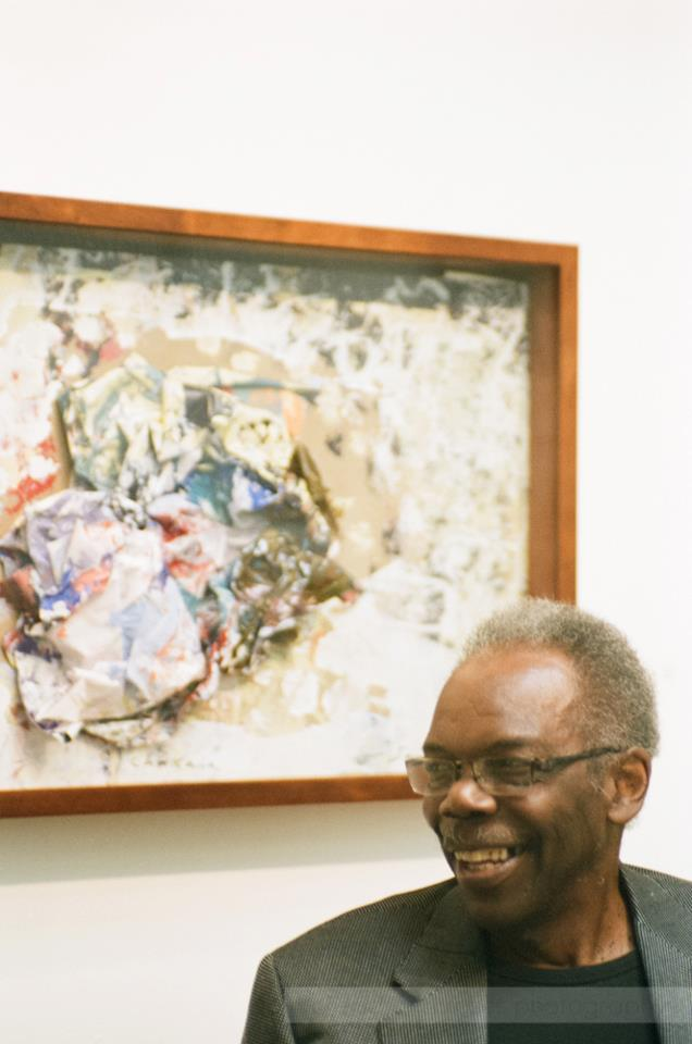 2011, Sam Gilliam (born 1933) Internationally acclaimed abstract painter Sam Gilliam has been testing the boundaries of color, form, texture, and the canvas itself over the course of his long, productive career. Filling canvases with fields of deeply saturated color and layers of expressionistic brushstrokes, both subtle and bold, Gilliam was a part of the Washington Color School (late 1950s through mid-'70s) and has been associated with the Abstract Expressionists.