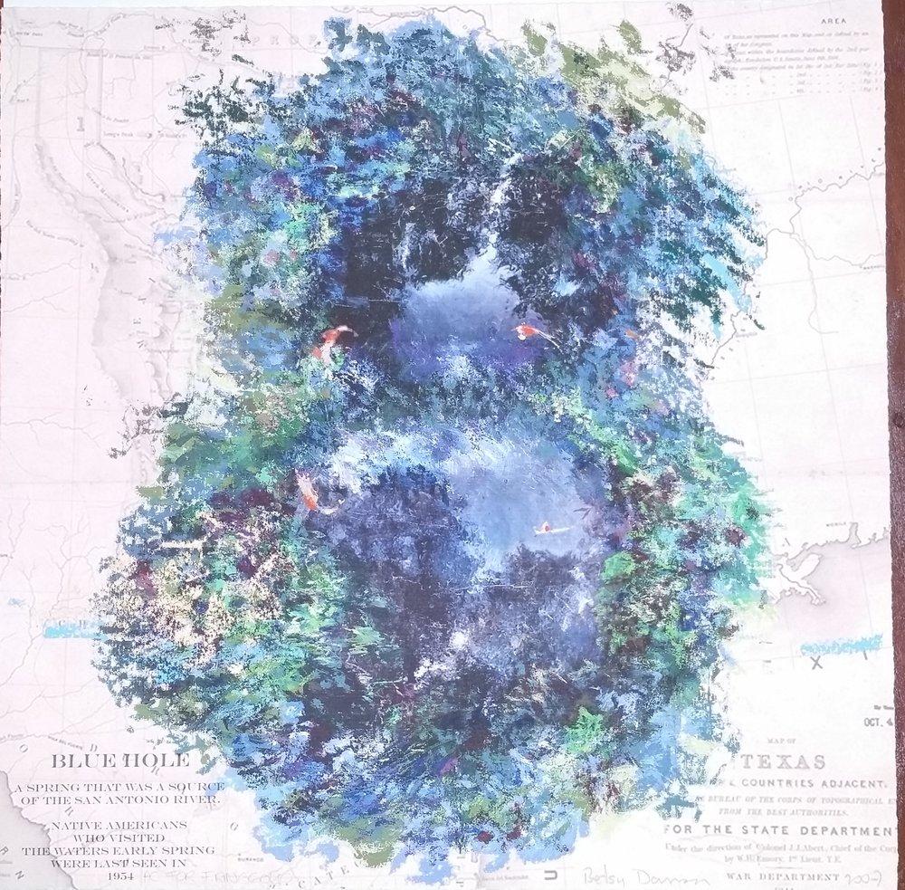 Blue Hole by Damon