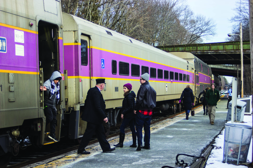 Wellsey Hills, MA MBTA Commuter Rail