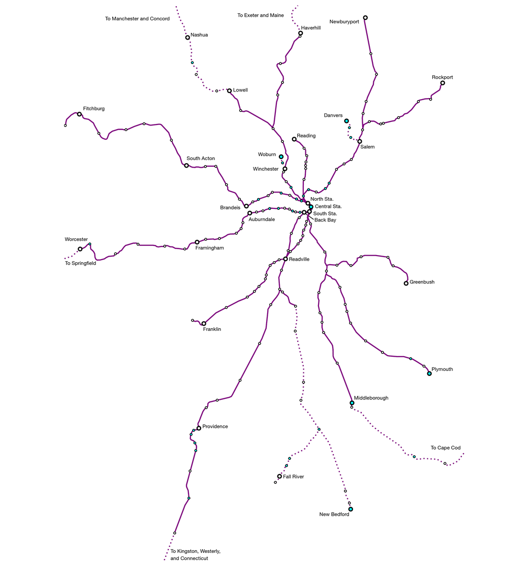 The Regional Rail network Metropolitan Boston Can achieve.