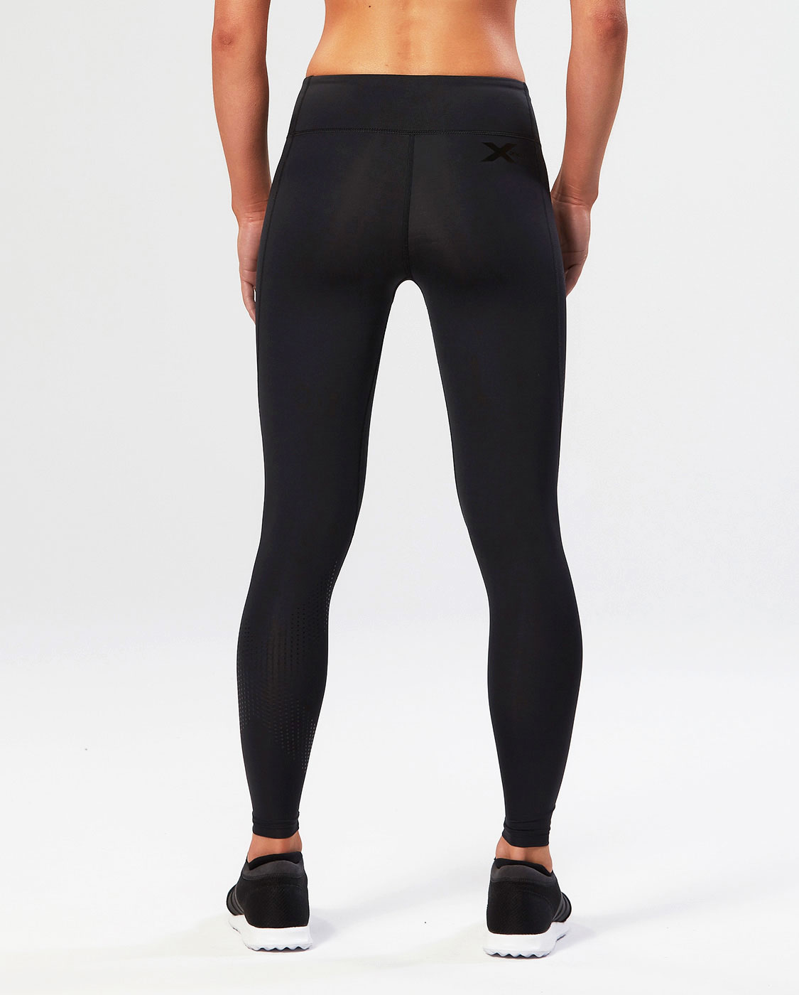 4c68d5a1cc48e 2XU Full Length Mid Rise Compression Tights Womens — TRS - The Running Shop