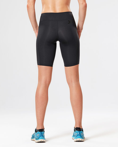 2XU Mid Rise Compression Short Tights Womens — TRS - The Running Shop 3b7a40c46b